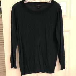 J Crew Dark Green Tippi Sweater